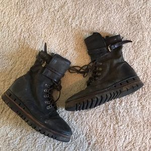 Combat boots urban outfitters